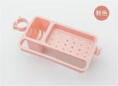 丹樂水龍頭置物架水池收納架水槽海綿抹布瀝水架家用廚房用品用具
