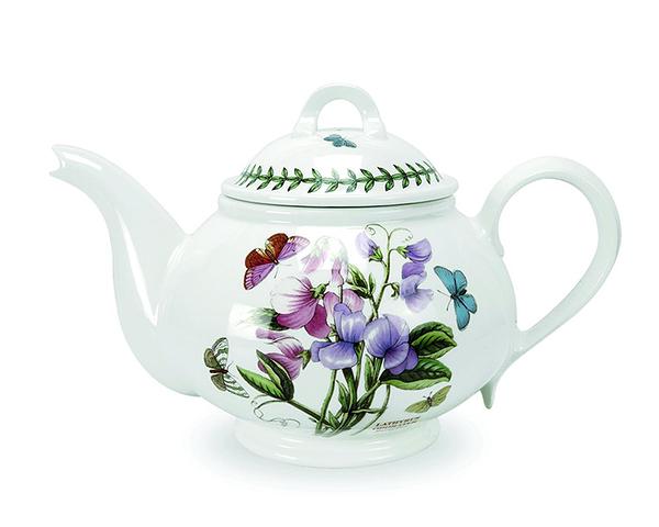 英國 Portmeirion Botanic Garden植物園系列 - 香豌豆1.1L花茶圓壺