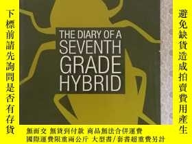 二手書博民逛書店英文原版罕見The Diary of a Seventh Gra