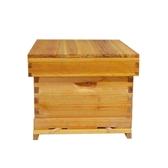蜂箱 蘭峰煮蠟杉木標準中蜂蜂箱密蜂具全套養蜂工具蜜蜂箱十框平箱專用【快速出貨】WY