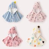 外出斗篷女冬季3珊瑚絨洋氣兒童防風外套冬裝加絨1歲披風