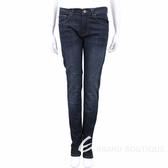 VERSACE 深藍色刷白修身棉質牛仔褲 1710584-34