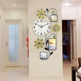 歐式相框鐘錶掛鐘客廳創意時尚時鐘現代簡約個性裝飾靜音石英鐘xw 全館免運