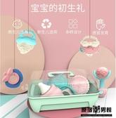 嬰兒 手搖鈴 新生寶寶 可咬水煮牙膠0-1歲玩具 3個月抓握訓練 益智 磨牙