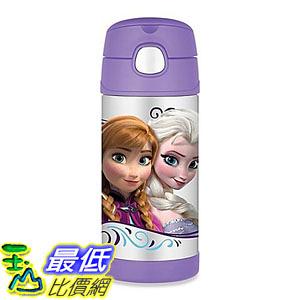 [107美國直購] 保冷 保溫瓶 Thermos FUNtainers 12 oz. Disney Frozen Beverage Bottle in Lavender