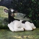 《MOJO FUN動物模型》動物星球頻道獨家授權 -小乳牛(躺姿)