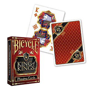 【USPCC 撲克】Bicycle King Of Kings playing cards red made by USPCC