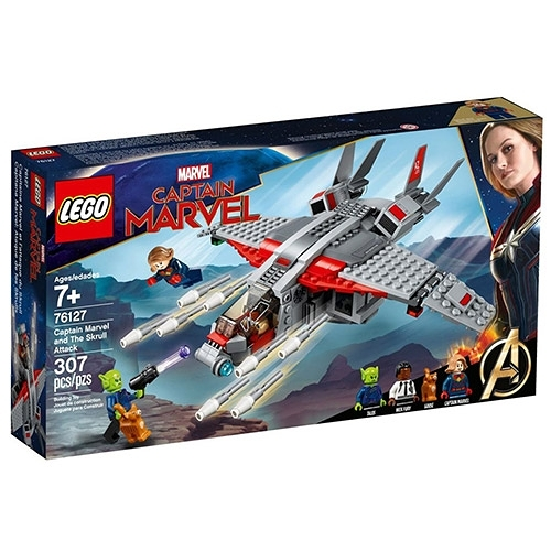 樂高積木 LEGO《 LT76127 》SUPER HEROES 超級英雄系列 - Captain Marvel and The Skrull Attack