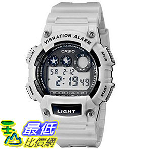 [美國直購] 手錶 Casio Mens W-735H-8A2VCF Vibration Alarm Digital Watch