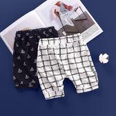 寶寶短褲純棉薄款打底褲夏季男童女童外穿休閑五分褲【奇趣小屋】