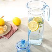 冷水壺 樂美雅玻璃冷水壺扎壺玻璃壺涼水杯耐熱大容量家用透明涼水壺 玩趣3C
