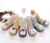 嬰兒軟底襪純棉卡通立體兒童地板襪子春秋薄款防滑寶寶學步襪夏 森活雜貨