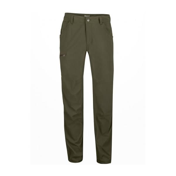 [Marmot] Arch Rock Pant (男) 彈性快乾長褲 墨綠 (M52370-3947)