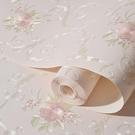 3D墻貼 歐式無紡布壁紙自粘墻紙3d立體田園大花溫馨臥室客廳寢室背景貼紙 - 風尚3C