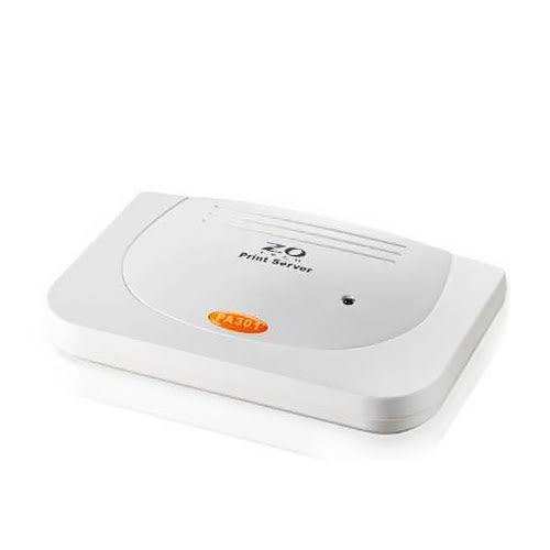 Zero One Tech 零壹科技 PA301 支援平行埠 印表機伺服器