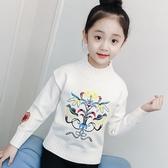 女童毛衣2018秋冬新款韓版兒童上衣打底針織衫小女孩洋氣童裝線衣
