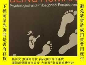 二手書博民逛書店Being罕見Human: Psychological and