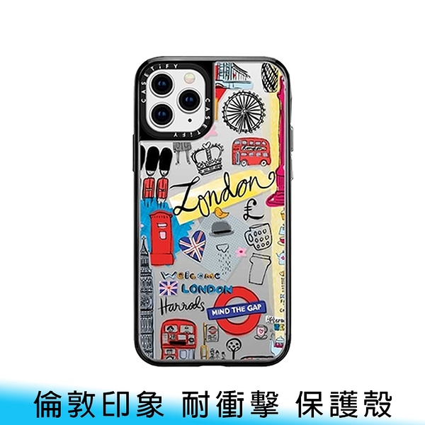 【妃航/免運】Casetify 倫敦印象 iPhone12/12 Pro 6.1吋 輕量級 耐衝擊 保護殼