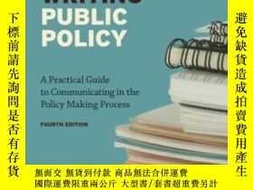 二手書博民逛書店Writing罕見Public Policy: A Practi