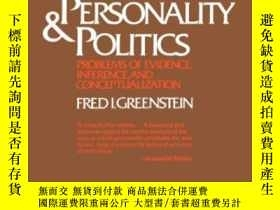 二手書博民逛書店Personality罕見& Politics (the Norton Library ; N767)Y256
