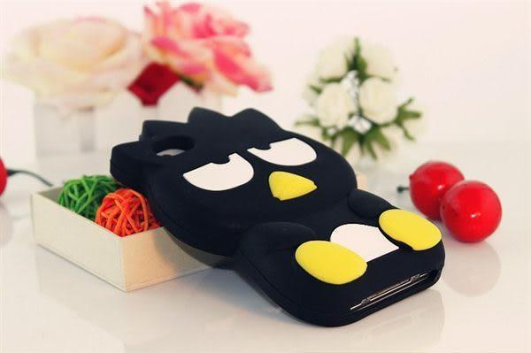 免運 酷企鵝XO蘋果iphone4 4s iphone5 保護殼 矽膠套
