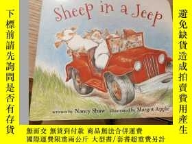 二手書博民逛書店Sheep罕見in a Jeep (board book)Y181064 Nancy E.、Margot Ap