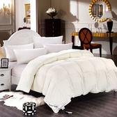 羽絨被 寢具-素雅柔軟蓬鬆冬季白鵝絨雙人棉被6色72aa12【時尚巴黎】