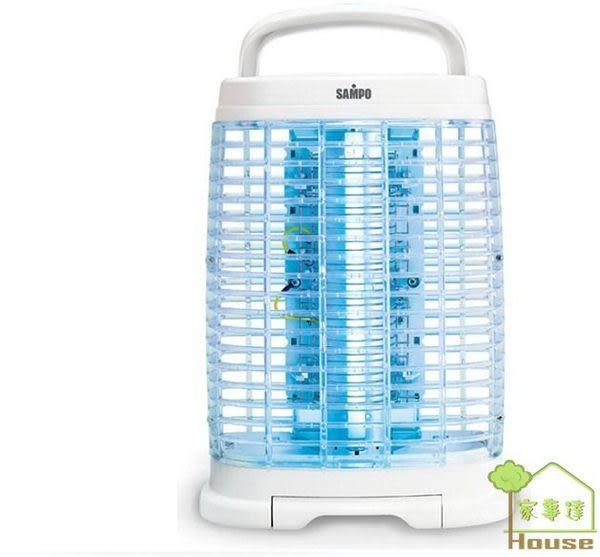 [家事達]聲寶 15W奈米銀捕蚊燈 KU-MLDF15S