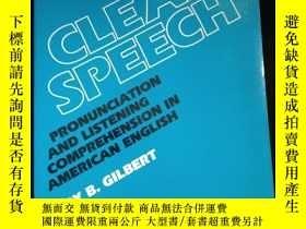 二手書博民逛書店Clear罕見Speech Pronunciation and Listening Comprehension i