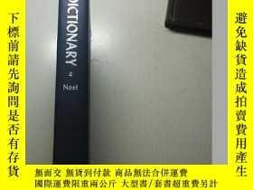 二手書博民逛書店英文原版罕見Naval Terms Dictionary 海軍術