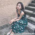 中長款吊帶裙女夏季2019新款學生韓版雪...