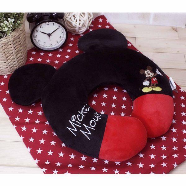 米奇舒壓頸枕 辦公室午休枕 午睡枕 護頸枕 飛機枕 蕾寶 迪士尼