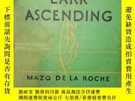二手書博民逛書店lark罕見ascending(雲雀高飛)Y1425 mazo de la roche little,brow