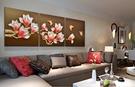 沙發背景牆裝飾畫客廳浮雕畫3D立體掛畫壁...