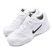 Nike 網球鞋 Court Lite 2 白 黑 基本款 運動鞋 男鞋 【ACS】 AR8836-100