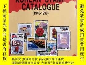 二手書博民逛書店KOREAN罕見STAMP CATALOGUE(1946一199