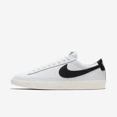 Nike Blazer Low Leather [CI6377-101] 男鞋 運動 休閒 緩震 抓地力 穿搭 白黑