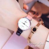 手錶女 手錶女中學生韓版簡約潮流ulzzang皮帶非機械時裝防水錶 果果輕時尚 igo