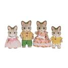 《 森林家族 - 日版 》斑紋貓家庭組 / JOYBUS玩具百貨