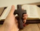 雅歌禮品|迷你實木十字架 壁掛擺件兩用 基督教 隨時禱告親近上帝
