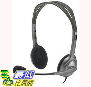 [106美國直購] 耳機 Logitech Stereo Headset H111