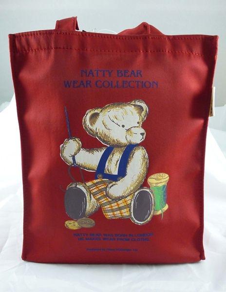 【震撼精品百貨】Natty Bear 泰迪熊~袋子『針線熊』