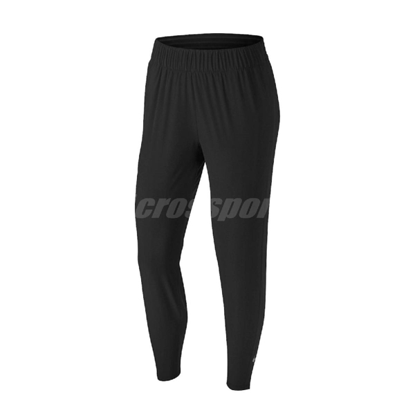 Nike 長褲 Essential Running Trousers 黑 銀 女款 跑步 運動【ACS】 BV2899-011