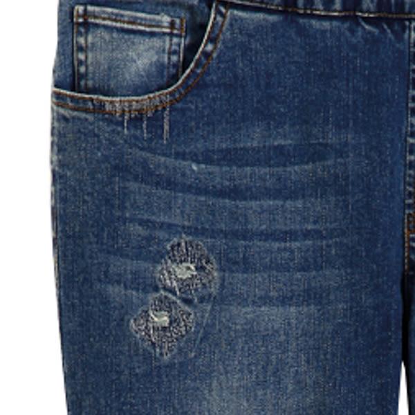 【MASTINA】牛仔內搭褲-藍 0524
