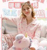 年終好禮 夢蜜春秋女月子服孕婦睡衣秋冬季產后哺乳衣家居服產婦喂奶服套裝