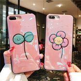 滴膠卡通iphone7plus手機殼蘋果6s/8p/x個性防摔硅膠保護套女款潮