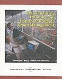 二手書博民逛書店《Manufacturing Planning and Control for Supply Chain Management》 R2Y ISBN:0071121331