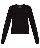 Hurley PALMER PERFECT LONG SLEEVE 長袖T恤-黑(女)
