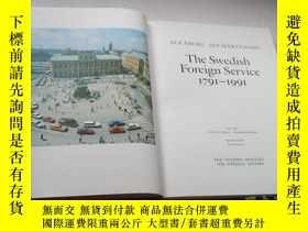 二手書博民逛書店THE罕見SWEDISH FOREIGN SERVICE 179