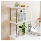 [超豐國際]不銹鋼置物架調料架 浴室收納架創意廚房用具碗架子儲物三層價